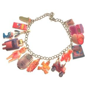 90s baby vintage toys charm braceletBoutique, used for sale